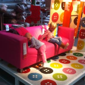 Spelen bij Ikea
