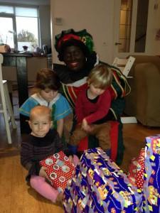 Zwarte Piet op bezoek...