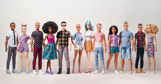 nieuwe barbie en ken